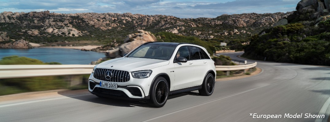 Get an early peek at the latest AMG® GLC SUV before it goes on sale