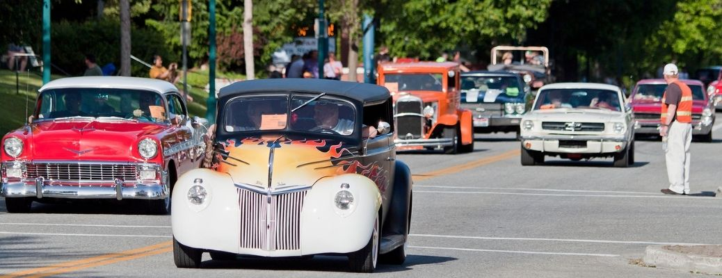 Car events in New London, CT