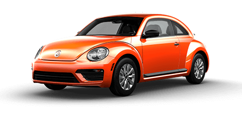 Habanero Orange Metallic 2018 Volkswagen Beetle