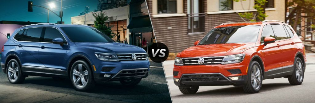 2018 VW Tiguan: Changes, Engines, 3-rd Row Seats, Price >> 2019 Volkswagen Tiguan Vs 2018 Volkswagen Tiguan