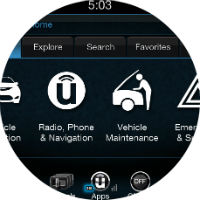 UConnect Apps 2017 Chrysler Pacifica