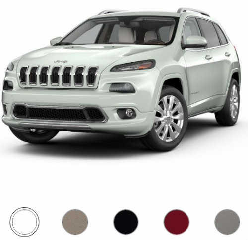 2017 Jeep Cherokee Overland Color Options