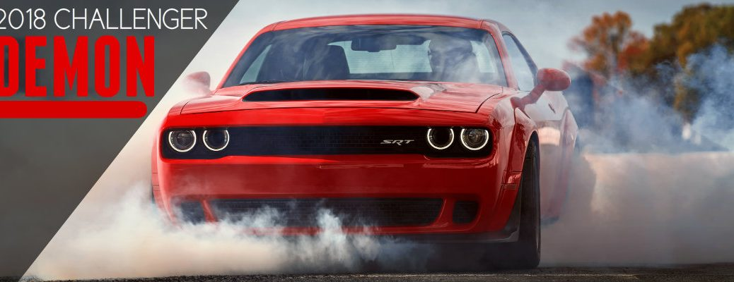 2018 Dodge Challenger SRT Demon Engine Specs