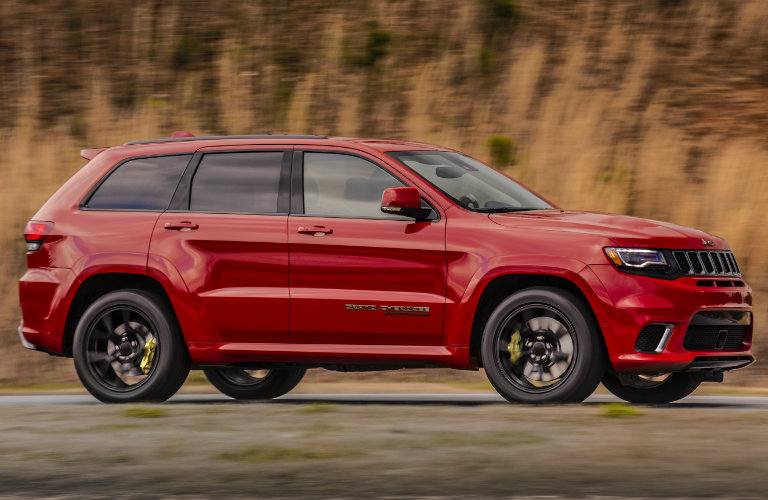 2018 Jeep Grand Cherokee Interior Image Gallery