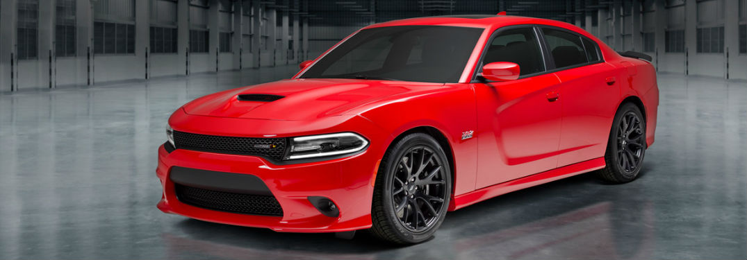 What colors does the 2018 Charger come in?