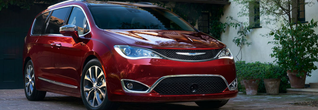 Uconnect infotainment systems in 2018 Chrysler Pacifica