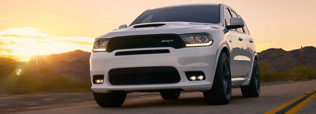 2018 Dodge Durango SRT driving
