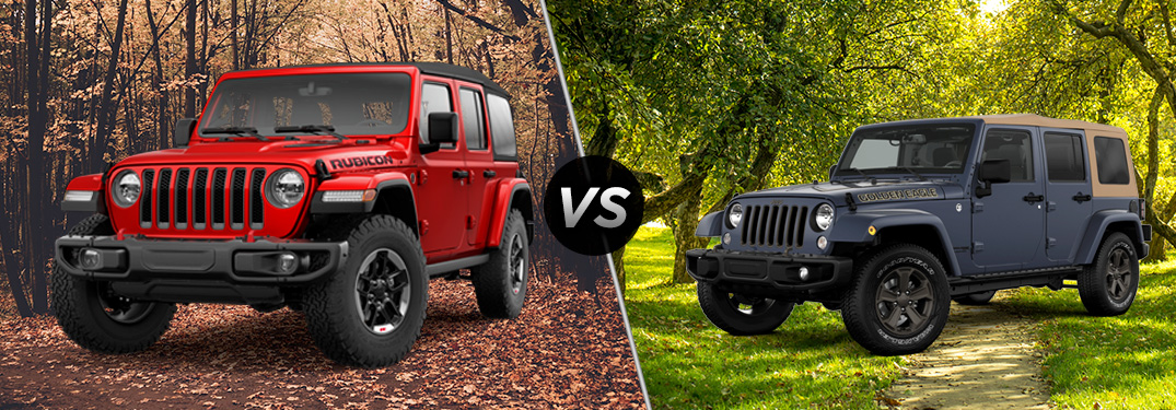 The New 2018 Jeep Wrangler – All The Latest Information >> 2018 Jeep Wrangler Jl Vs 2018 Jeep Wrangler Jk