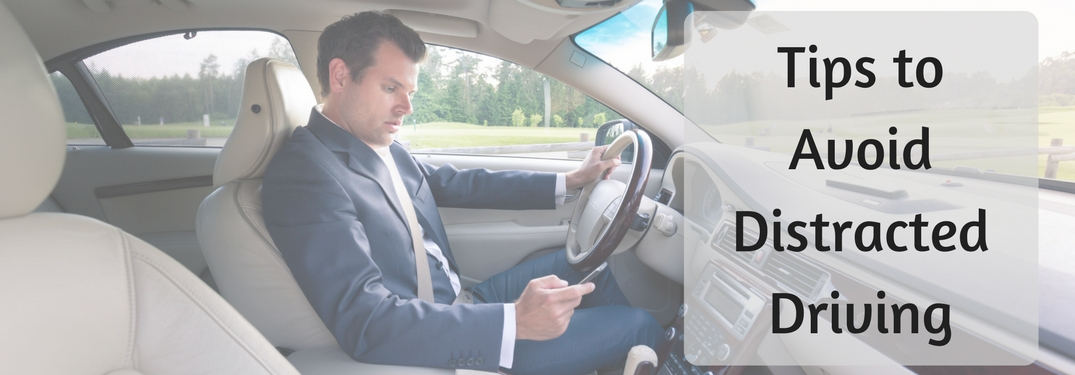 Take away the distractions in the car!