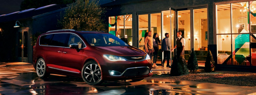 What are the 2018 Chrysler Pacifica trim grades and MSRPs?