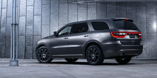 2019 Dodge Durango SXT parked in garage