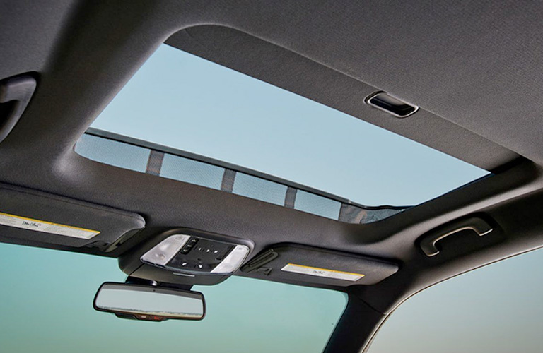 Isolated view of 2019 Dodge Charger sunroof