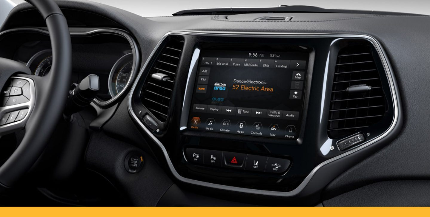SiriusXM Radio on Uconnect infotainment system