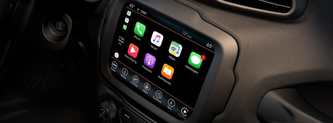 What can you do with the Uconnect infotainment system?