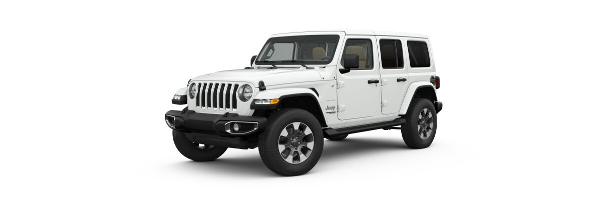 2019 Jeep Wrangler in Bright White