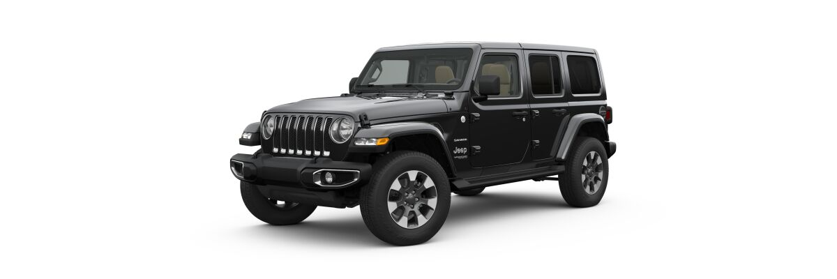 2019 Jeep Wrangler in Black