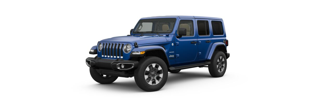 2019 Jeep Wrangler in Ocean Blue Metallic