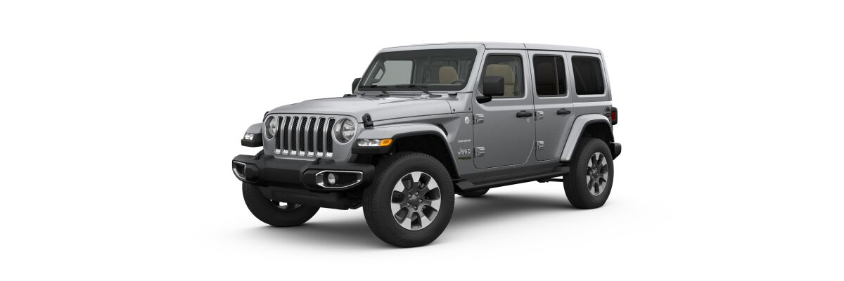 2019 Jeep Wrangler in Billet Silver Metallic