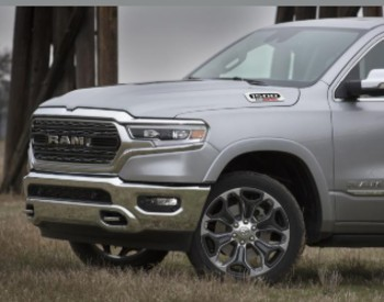 Hood and grille of 2020 RAM 1500