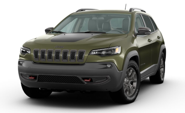 2020 Jeep Cherokee in Olive Green Pearl