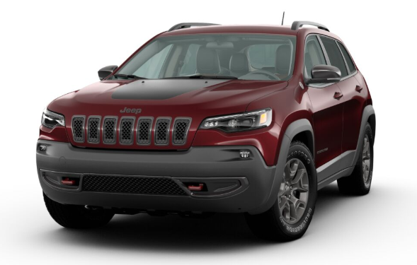 2020 Jeep Cherokee in Velvet Red Pearl
