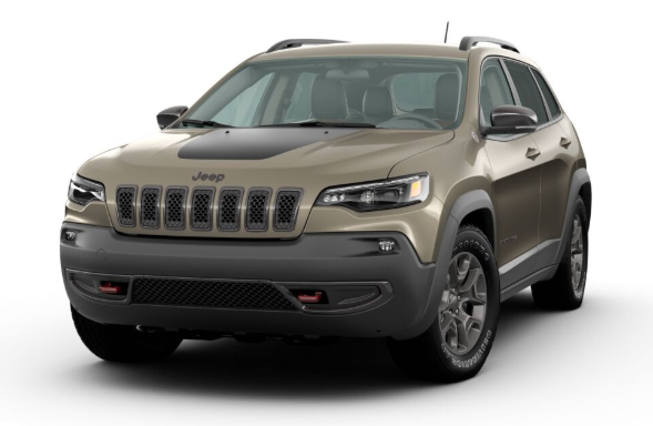 2020 Jeep Cherokee in Light Brownstone Pearl