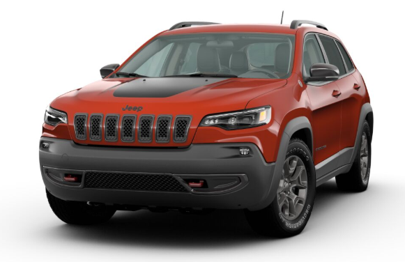 2020 Jeep Cherokee in Spitfire Orange