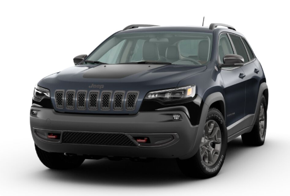 2020 Jeep Cherokee in Blue Shade Pearl
