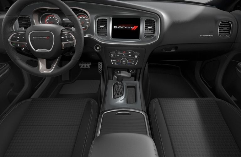 2020 Dodge Charger Black Cloth Interior Color Option