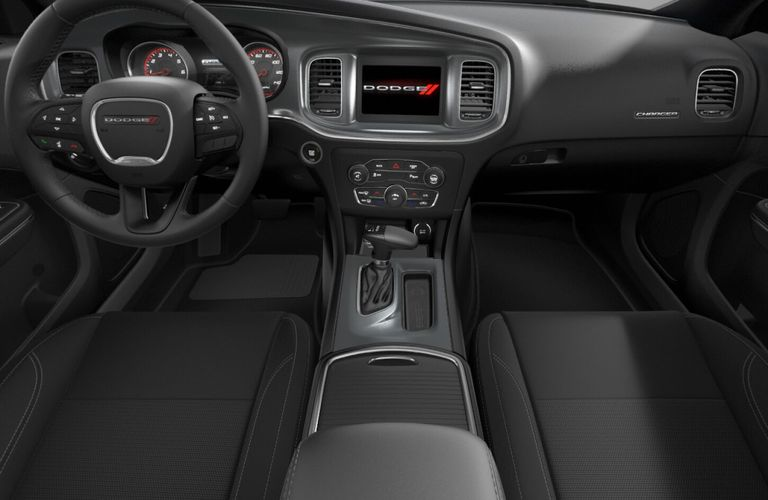 2020 Dodge Charger Black Nappa Leather Interior Color Option
