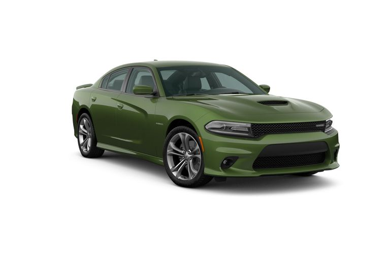 2020 Dodge Charger F8 Green Exterior Color Option