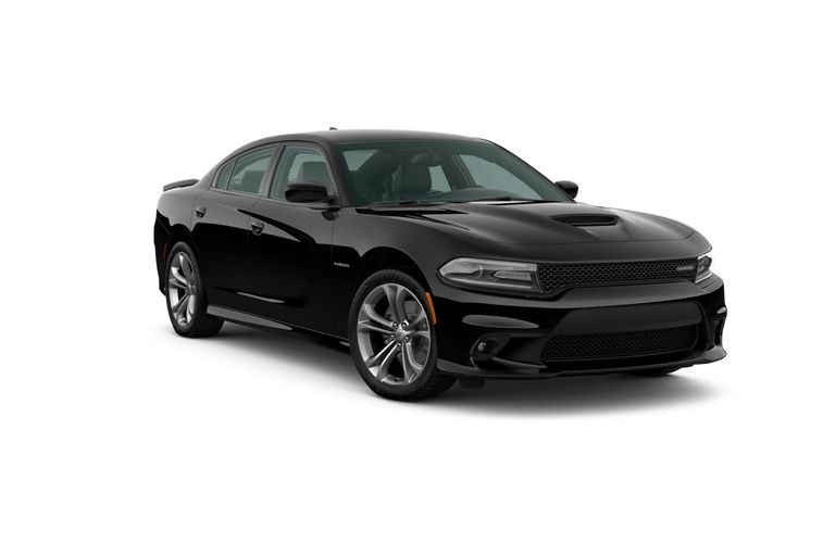 2020 Dodge Charger Pitch Black Exterior Color Option