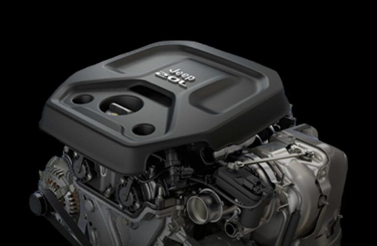 Image of the 2020 Jeep Cherokee turbo engine