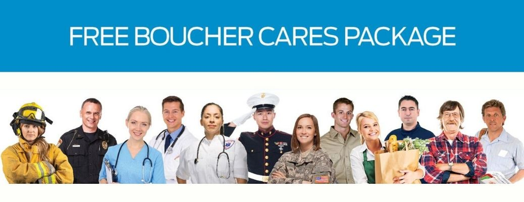 Boucher Cares Package banner