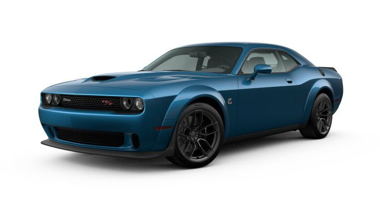 Image of a teal 2020 Dodge Challenger R/T Scat Pack