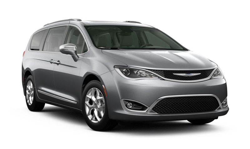 2020 Chrysler Pacifica Billet Silver Metallic Clear-Coat Exterior Color Option