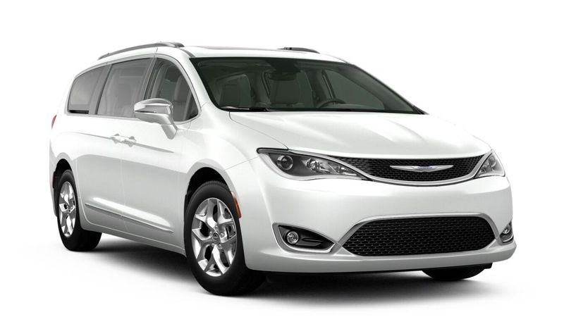 2020 Chrysler Pacifica Bright White Clear-Coat Exterior Color Option