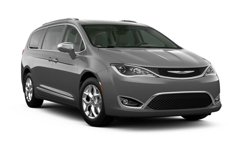 2020 Chrysler Pacifica Ceramic Gray Clear-Coat Exterior Color Option