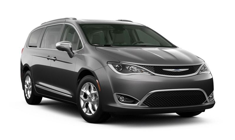 2020 Chrysler Pacifica Granite Crystal Metallic Clear-Coat Exterior Color Option