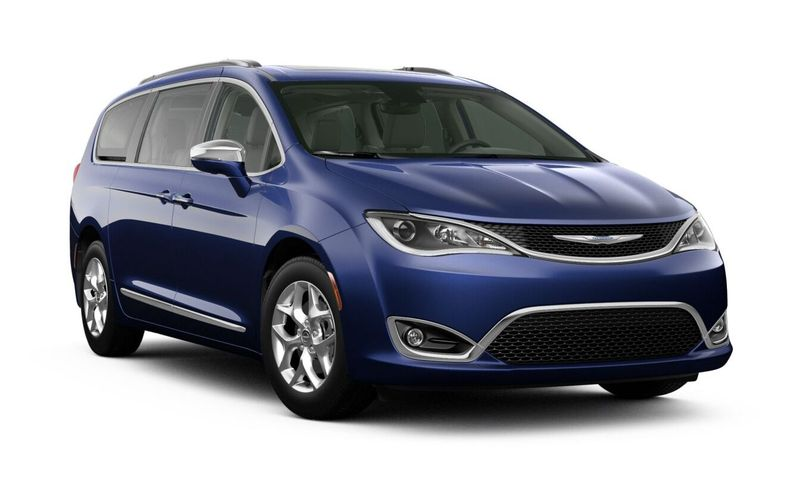 2020 Chrysler Pacifica Jazz Blue Pearl-Coat Exterior Color Option