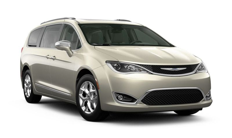 2020 Chrysler Pacifica Luxury White Pearl-Coat Exterior Color Option