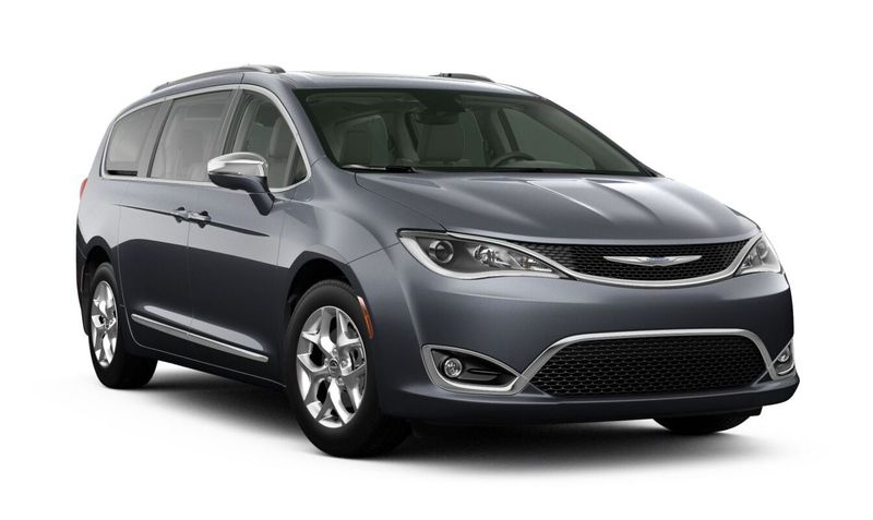 2020 Chrysler Pacifica Maximum Steel Metallic Clear-Coat Exterior Color Option
