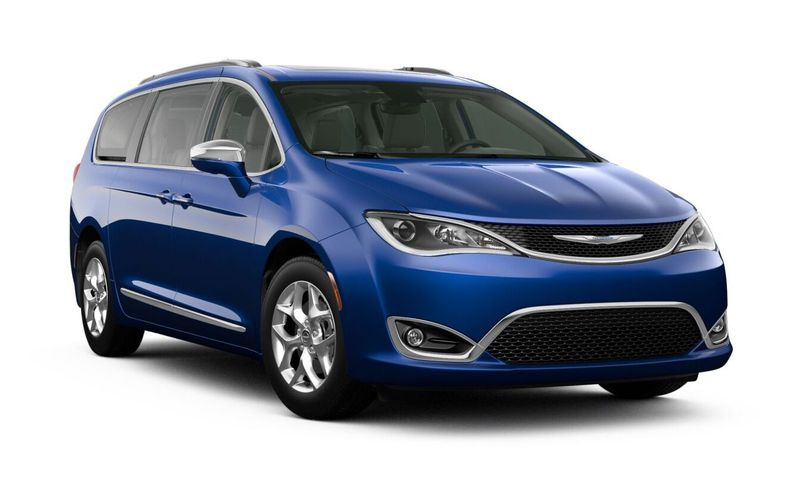 2020 Chrysler Pacifica Ocean Blue Metallic Exterior Color Option
