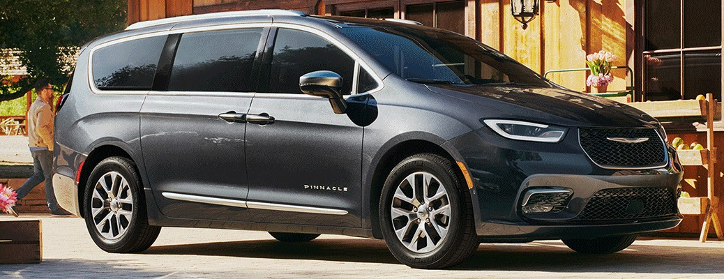 Exterior view of the 2021 Chrysler Pacifica