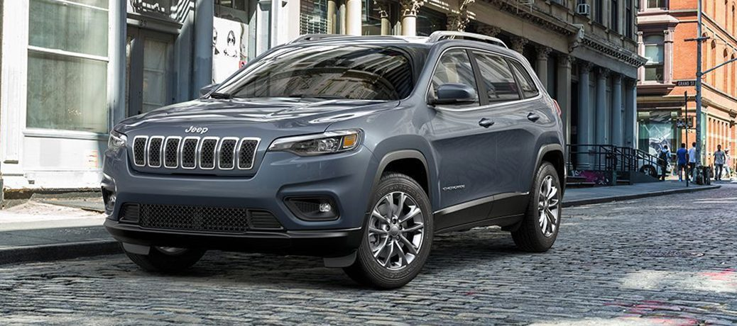 2019 Jeep Cherokee parked on city street