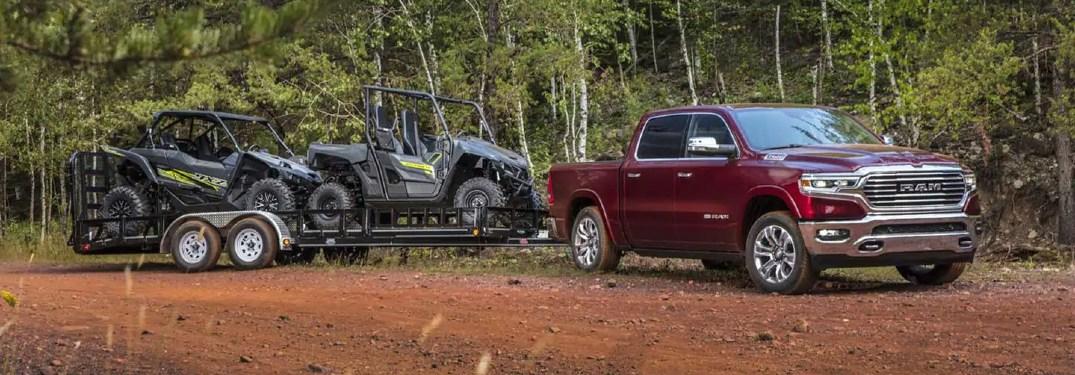 How much can the 2021 Ram 1500 tow?
