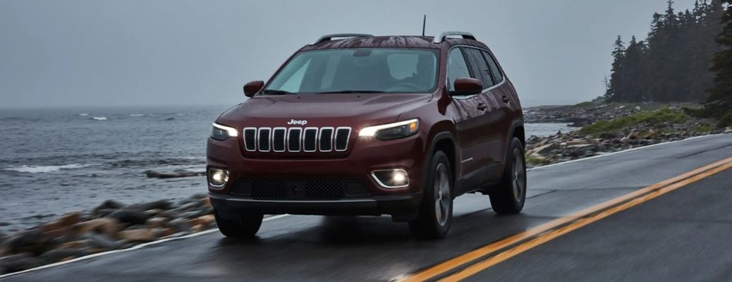 2021 Jeep Cherokee on a Highway
