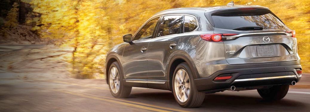 2019 Mazda CX-9 driving outside