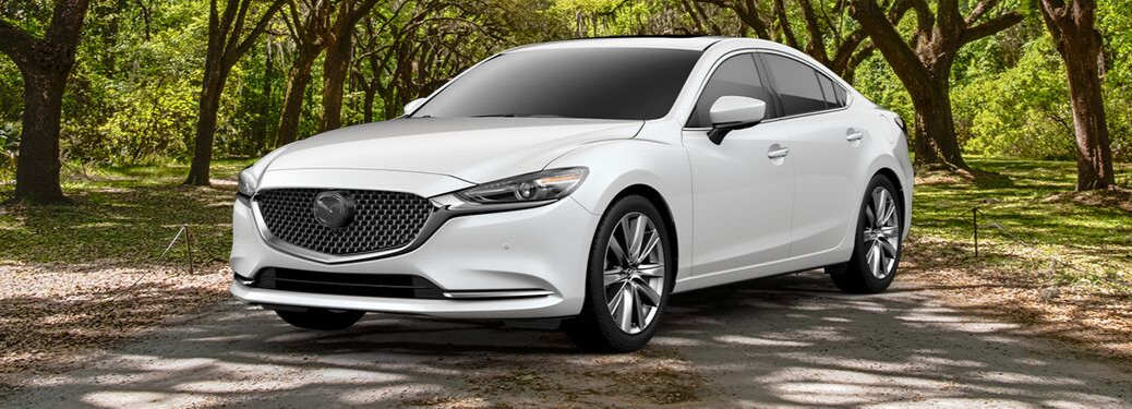 2019 Mazda6 parked outside