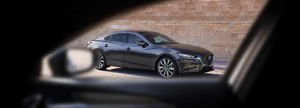 2020 Mazda6 Parked outside through window view